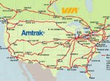Amtrak Route Map